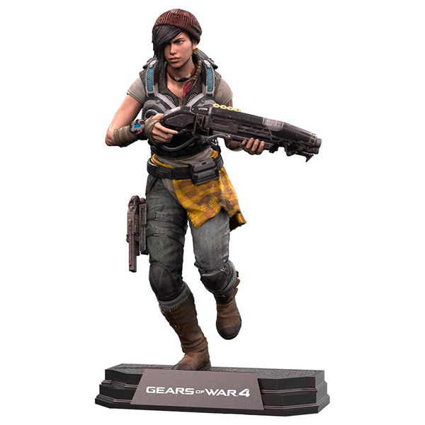Фигурка McFarlane Toys Gears Of War 4 Kait Diaz 17 см майка классическая printio gears of war 2