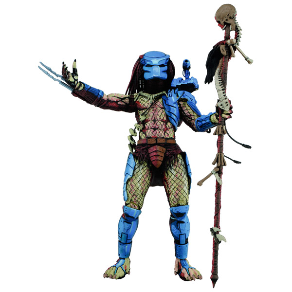 Фигурка Neca Predator 17 см saintgi avp predator 2 alien colonial marines hunter primevil the pvc movie game cute action figure collection gifts toys neca