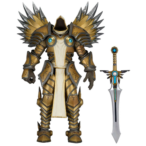 Фигурка Neca Heroes of the Storm Tyrael 17 см neca heroes of the storm dominion ghost nova pvc action figure collectible model toy 15cm