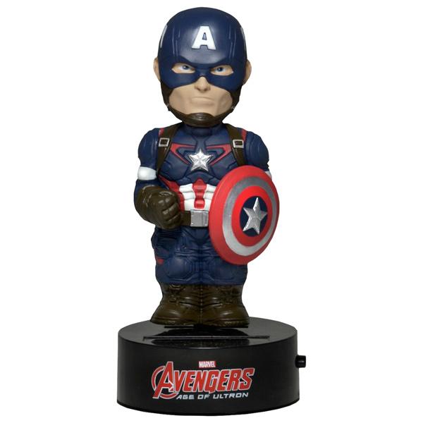 Фигурка Neca Captain America 15 м на солнечной батарее pg8017 super heroes avengers movie scorpion sdcc captain america stan lee building blocks model children bricks toy