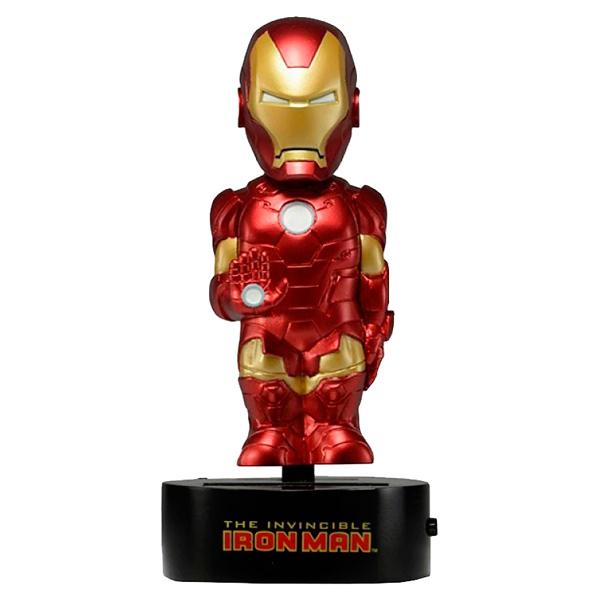 Фото Фигурка Neca Iron Man 15 см на солнечной батарее marvel phunny s мягкая игрушка iron man