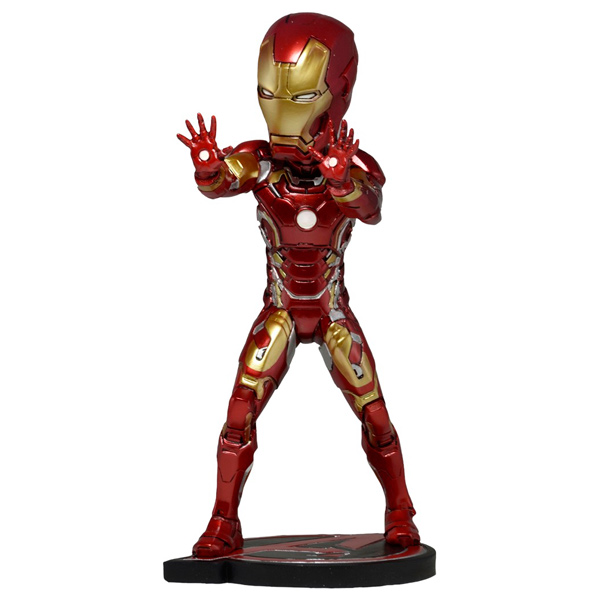 Фигурка Neca Head Knocker Avengers Age of Ultron Iron Man 17см xinduplan marvel shield iron man avengers age of ultron mk45 limited edition human face movable action figure 30cm model 0778