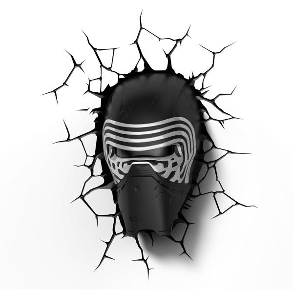 Фигурка 3DLightFX Светильник 3D Star Wars Lead Villian Helmet стоимость