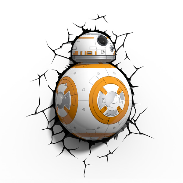 Фигурка 3DLightFX Светильник 3D Star Wars Lead Droid