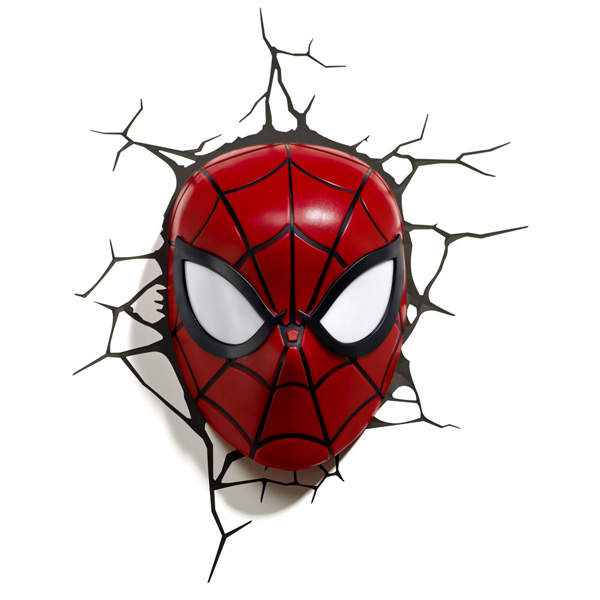 Фигурка 3DLightFX Светильник 3D Spiderman Mask светильник декоративный 3dlightfx sw darth vader saber 3d