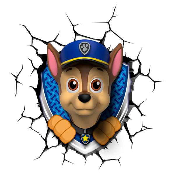 Фигурка 3DLightFX Светильник 3D Paw Patrol Chase светильник декоративный 3dlightfx sw darth vader saber 3d