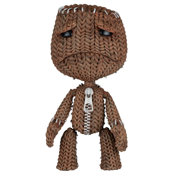 Фигурка Neca LittleBigPlanet Sackboy Sad фигурки игрушки neca фигурка planet of the apes 7 series 1 dr zaius