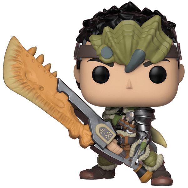 Фигурка Funko POP! Vinyl: Games: Monster Hunters Male Hunter iclebo pop