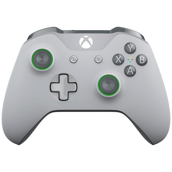 Аксессуар для игровой консоли Microsoft Беспроводной геймпад Grey-Green (WL3-00061) кастомизированный беспроводной геймпад для xbox one гладиатор