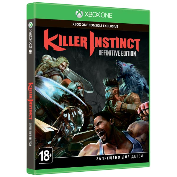 Видеоигра для Xbox One . Killer Instinct Definitive Edition игра microsoft killer instinct definitive edition xbox one