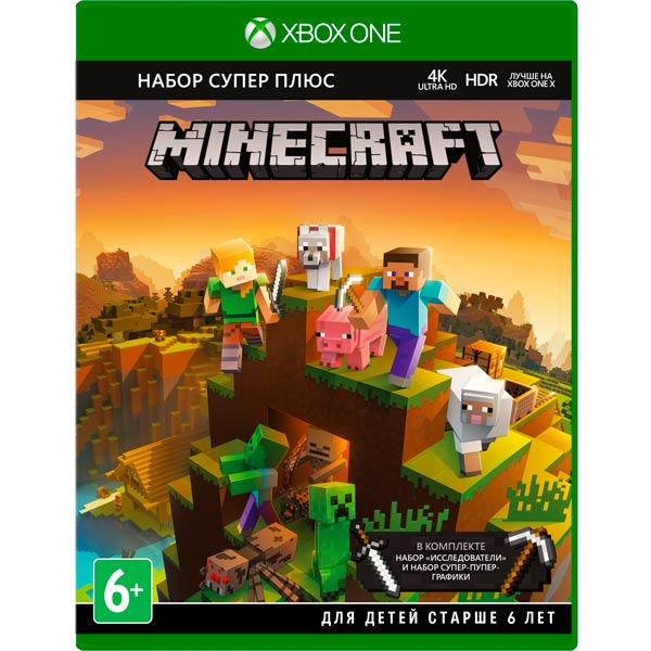 Видеоигра для Xbox One . Minecraft Explorers Pack sleeping dogs definitive edition игра для xbox one