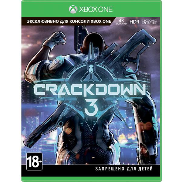 Xbox One игра Microsoft — Crackdown 3