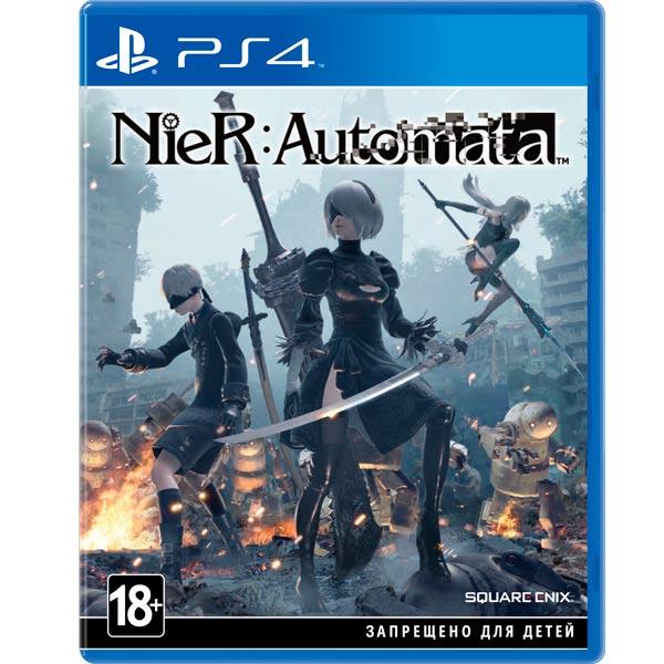 Видеоигра для PS4 . NieR:Automata amine platinum games cyberpunk square enix sword girl nier action figure collectible toys for christmas gift