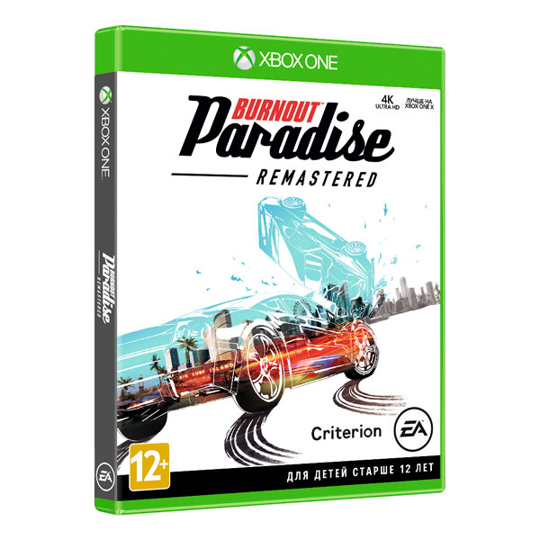 Видеоигра для Xbox One . Burnout Paradise Remastered