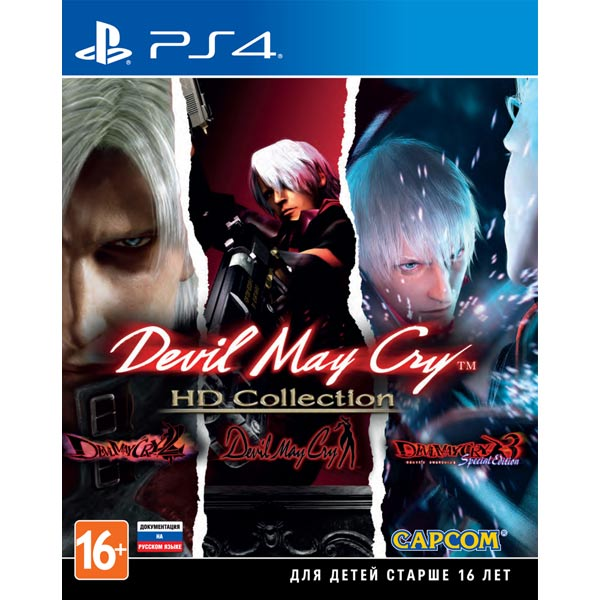 Видеоигра для PS4 . Devil May Cry HD Collection видеоигра для xbox one dmc devil may cry