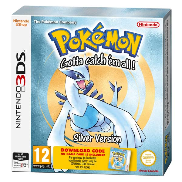 Nintendo, Игра для, Pokemon Silver