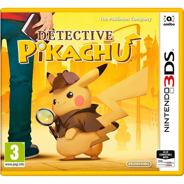 Игра для Nintendo Detective Pikachu detective cross