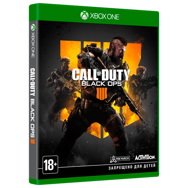Xbox One игра Activision Call of Duty: Black Ops 4