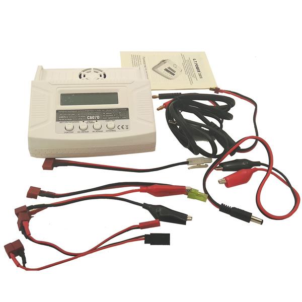 Аксессуар для радиоуправляемых устройств G.T.POWER зарядное устройство 7A 80W (GTP-C607D)