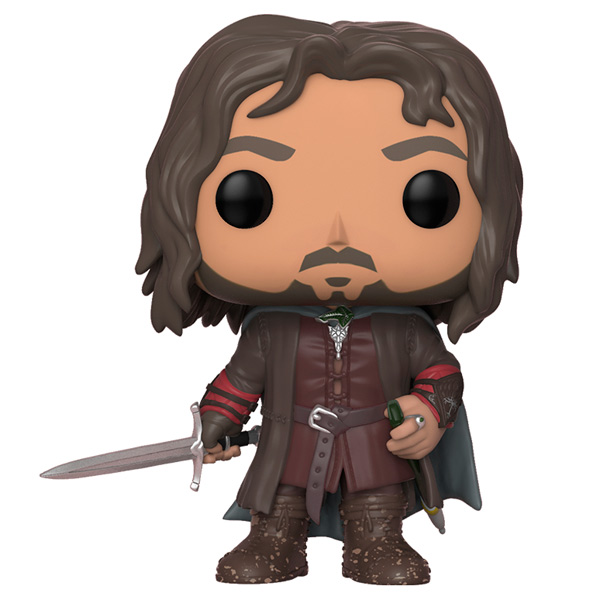 Фигурка Funko POP! Vinyl: Movies: The Lord of the Rings Aragorn funko pop vinyl фигурка alice through the looking glass young chessur
