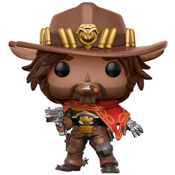 Фигурка Funko POP! Vinyl: Games: Overwatch: McCree фигурка funko pop games gears of war oscar diaz