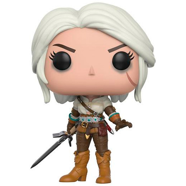 Фигурка Funko POP! Vinyl: Games: The Witcher: Ciri funko pop vinyl фигурка dragon ball z resurrection f vegeta