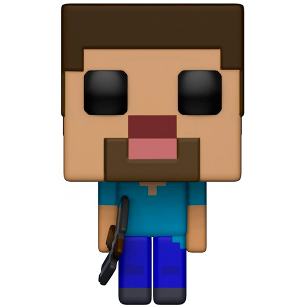 Фигурка Funko POP! Vinyl: Games: Minecraft Steve фигурка funko pop games gears of war oscar diaz