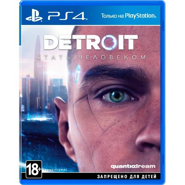 Видеоигра для PS4 . Detroit: Стать человеком