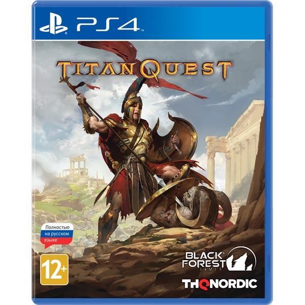 Видеоигра для PS4 . Titan Quest