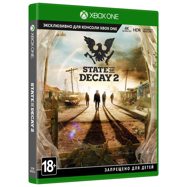 Видеоигра для Xbox One . State of Decay 2 immunity of heads of state
