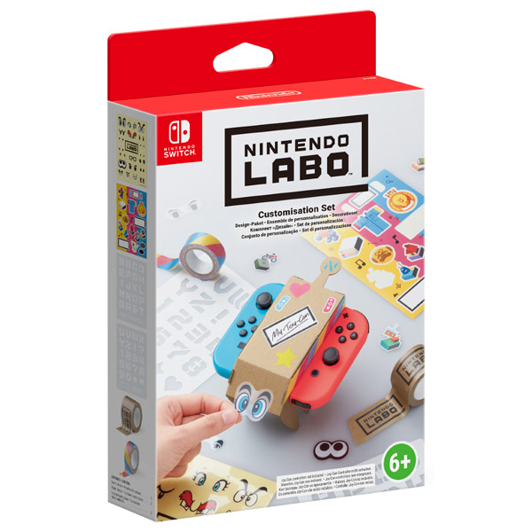 Аксессуар для игровой приставки Nintendo Labo Customization Set