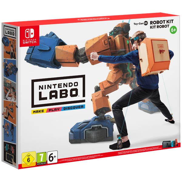 Nintendo, Игра для, Labo Toy-Con 02 Robot Kit