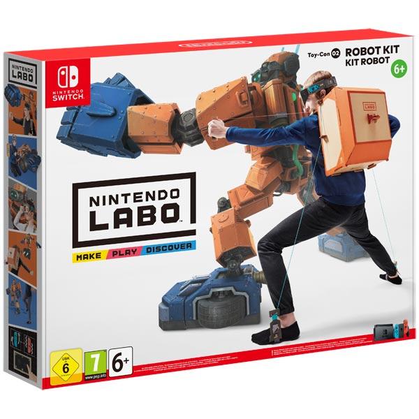 Игра для Nintendo Labo Toy-Con 02 Robot Kit робоконструктор ultimate robot kit makeblock