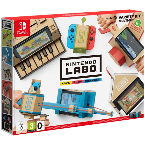 Nintendo, Игра для, Labo Toy-Con 01 Variety Kit