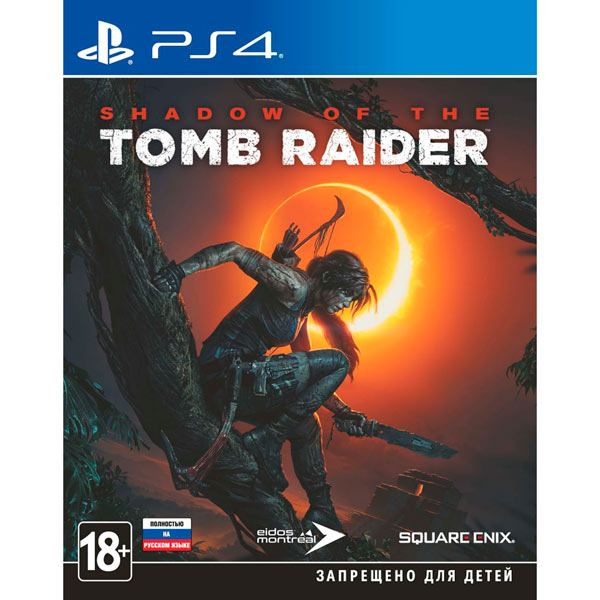 PS4 игра Square Enix Shadow of the Tomb Raider фото