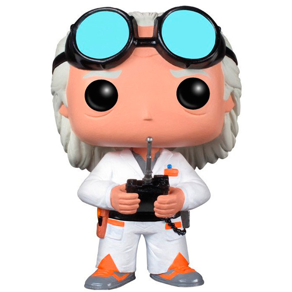 Фигурка Funko POP! Vinyl: Back to the Future: Dr. Emmett Brown funko pop vinyl фигурка alice through the looking glass young chessur
