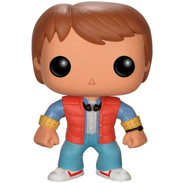 Фигурка Funko POP! Vinyl: Movies:Back to the Future:Marty McFly funko pop vinyl фигурка alice through the looking glass young chessur