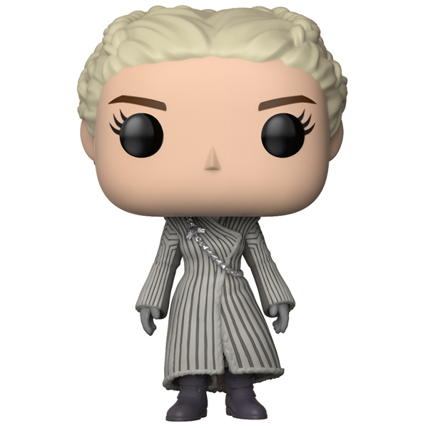 Фигурка Funko POP! GameOfThronesS8:DaenerysTargaryen(WhiteCoat) фигурка funko pop bobble marvel black panther nakia