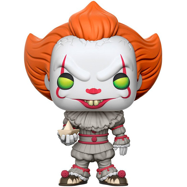 Фигурка Funko POP! Vinyl: Movies: IT: Pennywise w/ Boat iclebo pop