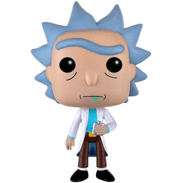 Фигурка Funko POP! Vinyl: Animation: Rick & Morty: Rick фигурка funko pop animation rick & morty series 3 scary terry