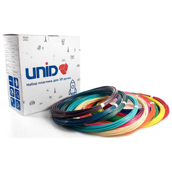 Пластик для 3D ручки UNID PLA12 (12 цветов по 10м)