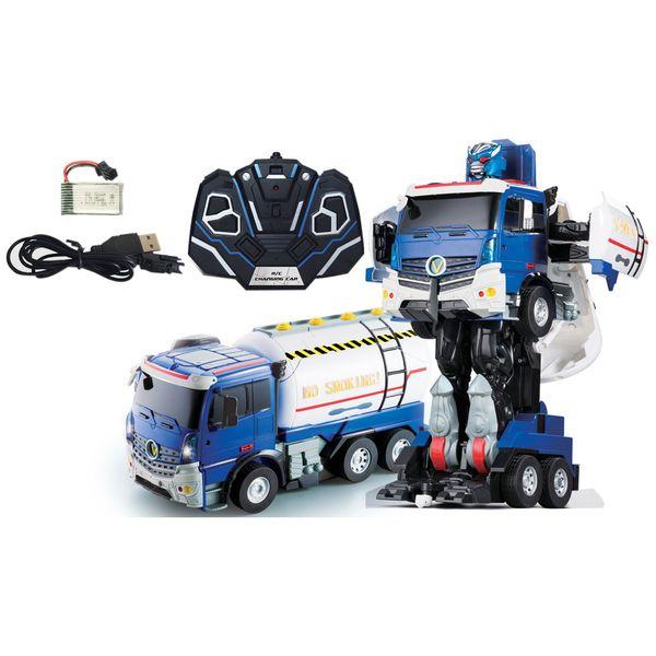 Робот 1toy Т11024 Тракботы: Грузовик-трансформер (38см)