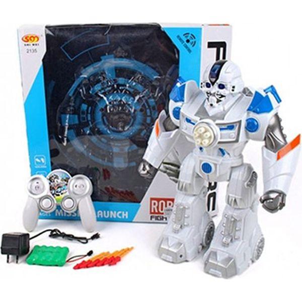Робот Наша Игрушка 2135-1 стреляющий