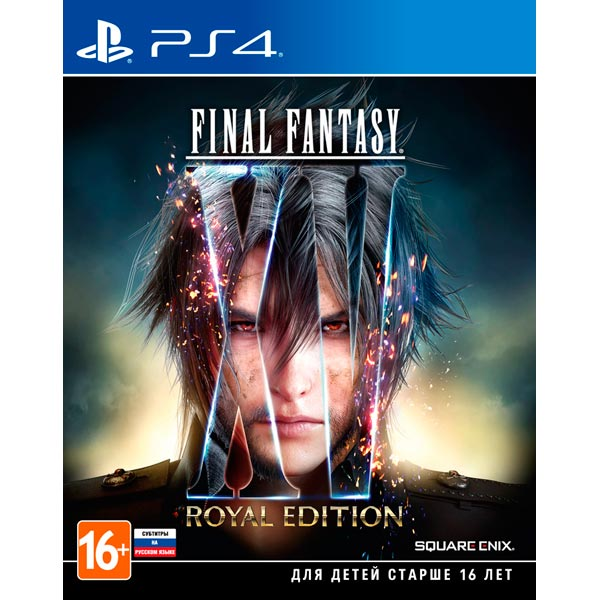Видеоигра для PS4 . Final Fantasy XV Royal Edition final fantasy xv day one edition игра для ps4