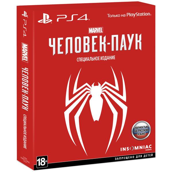 Видеоигра для PS4 . Человек-паук Special Edition sleeping dogs definitive edition игра для ps4
