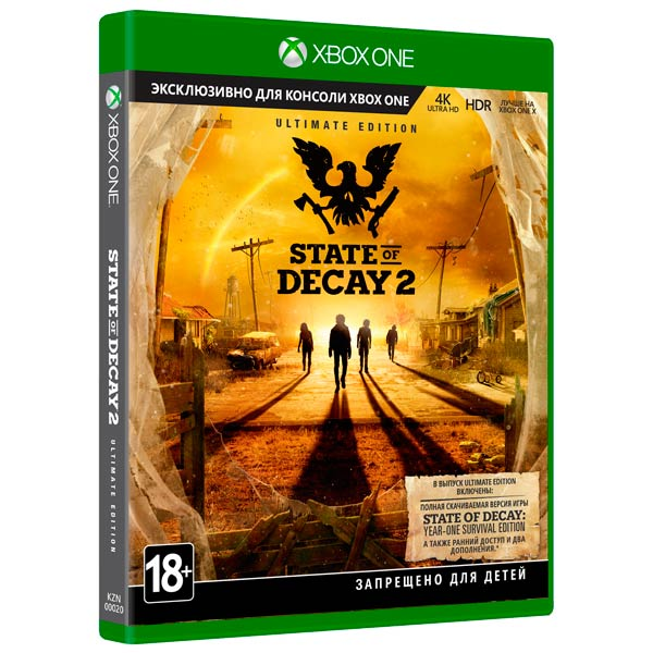 Видеоигра для Xbox One . State of Decay 2 Ultimate nomadic state of mind® вьетнамки