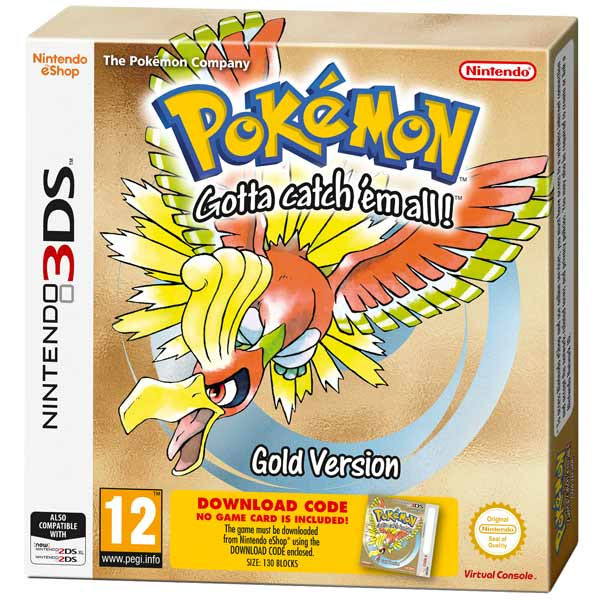 Игра для Nintendo 3DS Pokemon Gold