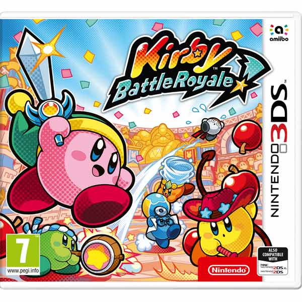 3DS игра Nintendo — Kirby Battle Royale