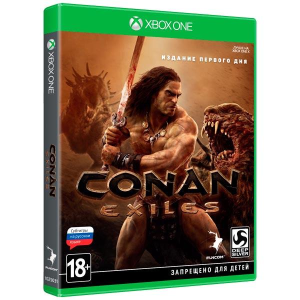 Видеоигра для Xbox One . Conan Exiles Издание первого дня agents of mayhem издание первого дня игра для xbox one