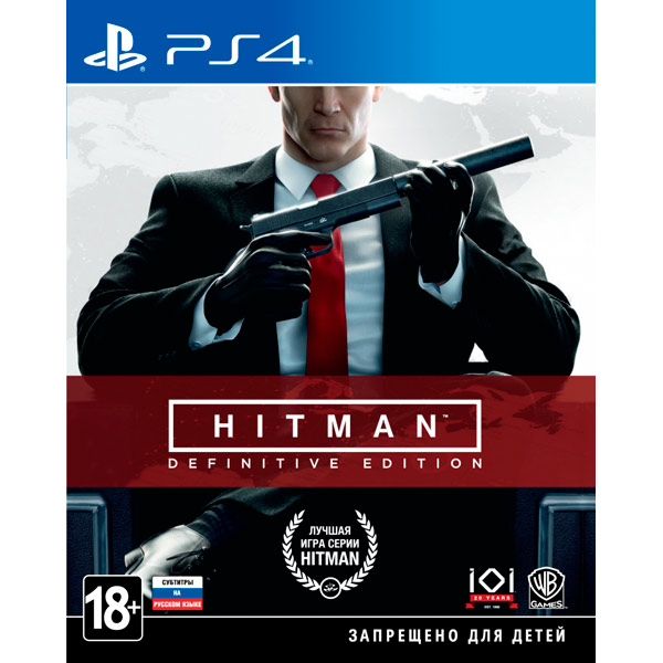 Видеоигра для PS4 . Hitman:Definitive Edition sony ps4 hitman definitive edition [русские субтитры]